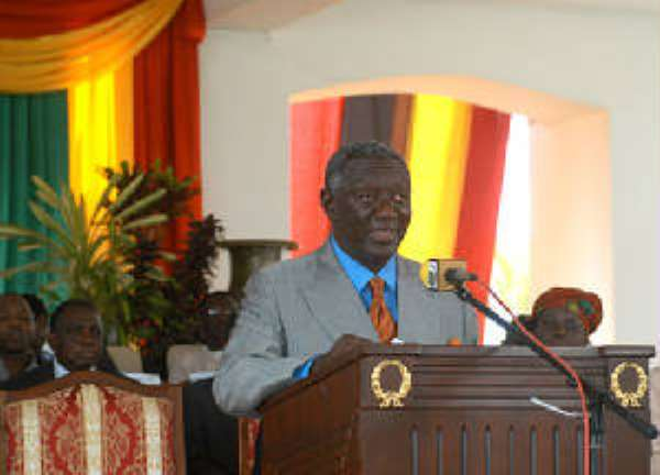 Who told Kufuor about the coup?